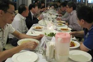 CTO club 111st activities: second dinner talk about network security