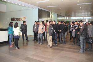 CTO Club 116th into Microsoft R & D group