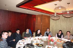 Shanghai CTO Club dinner: chat large data
